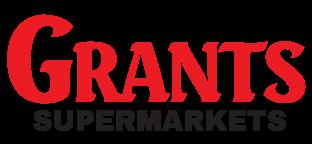 A theme logo of Grant's Supermarket